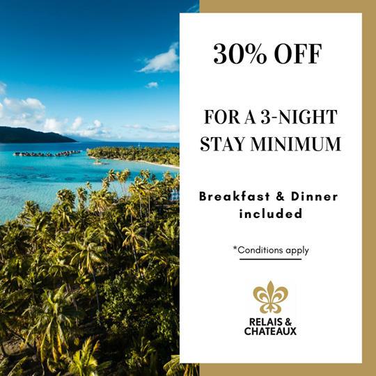DEAL   Bora Bora Pearl Beach Resort & Spa – Relais & Châteaux