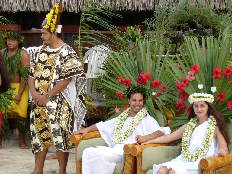 Hochzeitspaket auf Huahine / Französisch Polynesien