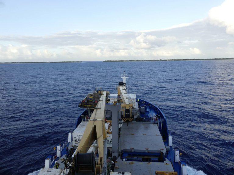 Komfortable Frachtschifffahrt auf der Aranui 5